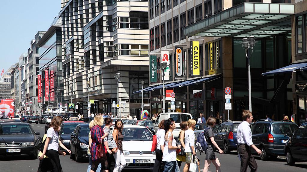 Neues Konzept für eine autofreie Friedrichstraße