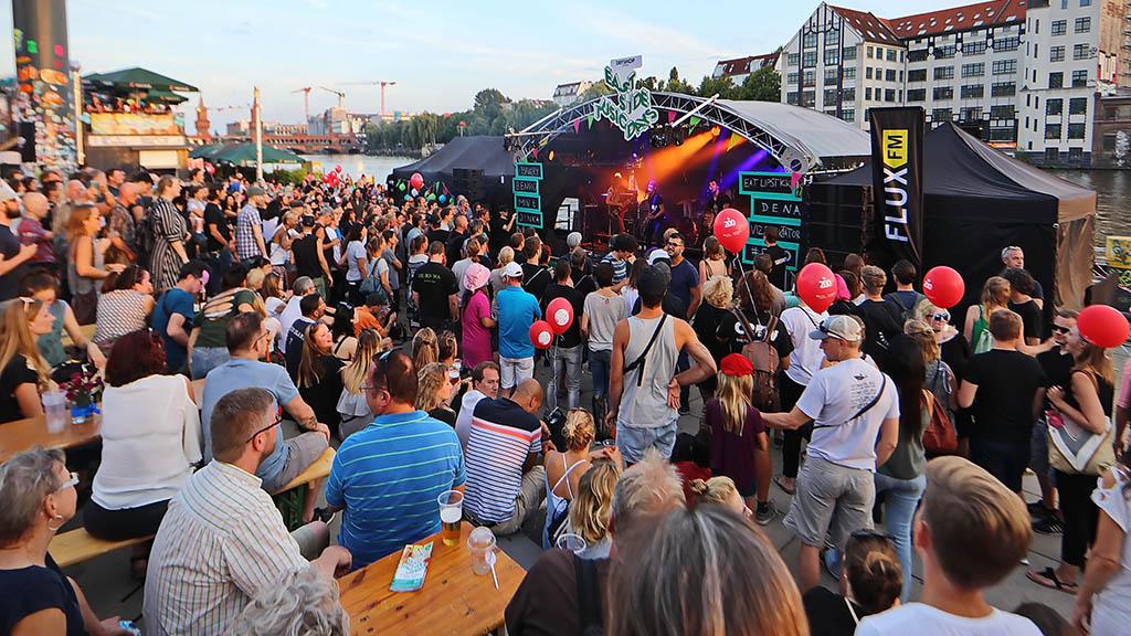Berlin-Friedrichshain: Bühne für die Straßenmusik