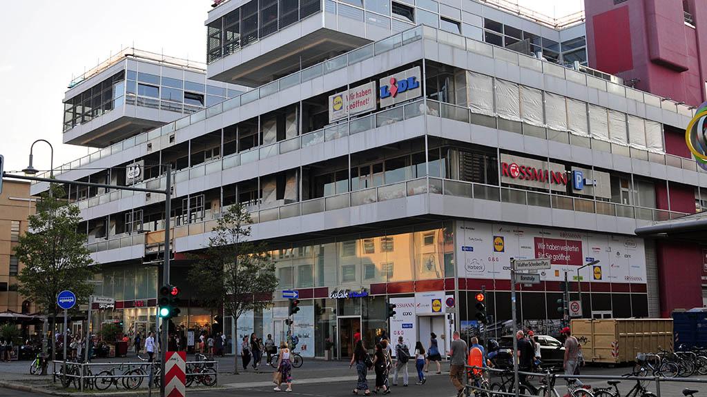 Forum Steglitz wird Geschäfts- und Bürohaus