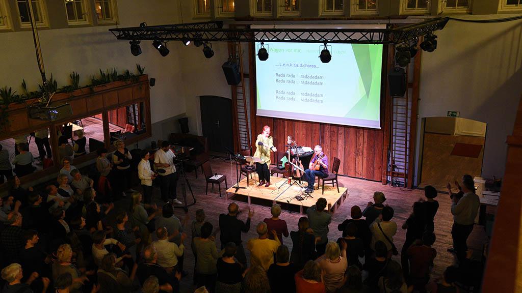 Berlin-Friedrichshain: Konzert zum Mitsingen
