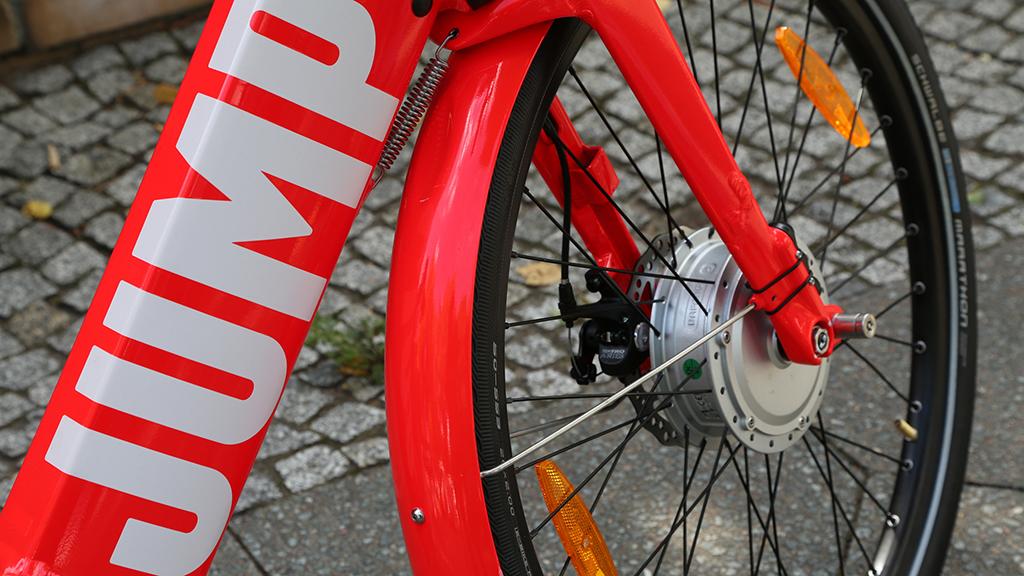 Berlin-Schmargendorf: Leihräder kommen