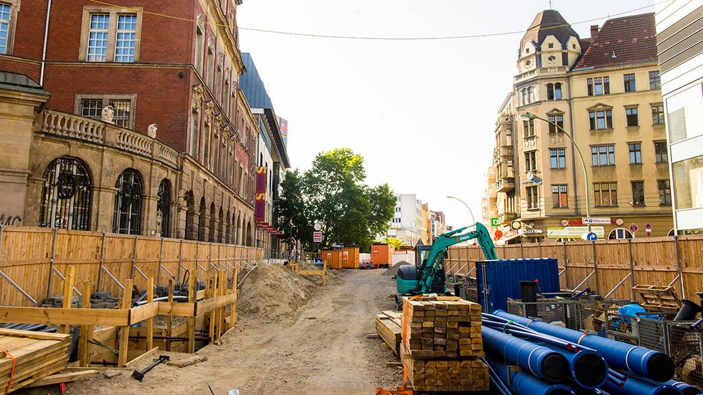 Berlin-Neukölln: Mammut-Baustelle bleibt länger