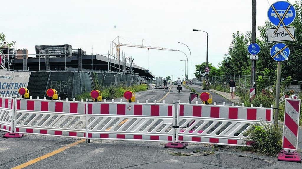 Berlin-Köpenick – Allende-Brücke bald wieder nutzbar