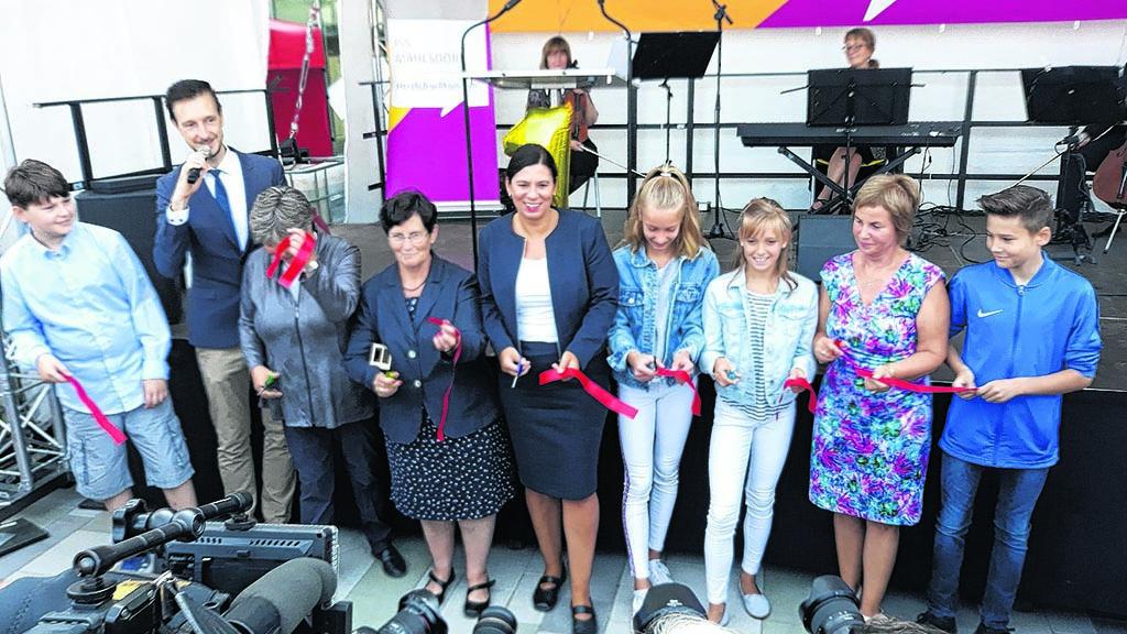 Mahlsdorfer Holz-Schule pünktlich eröffnet
