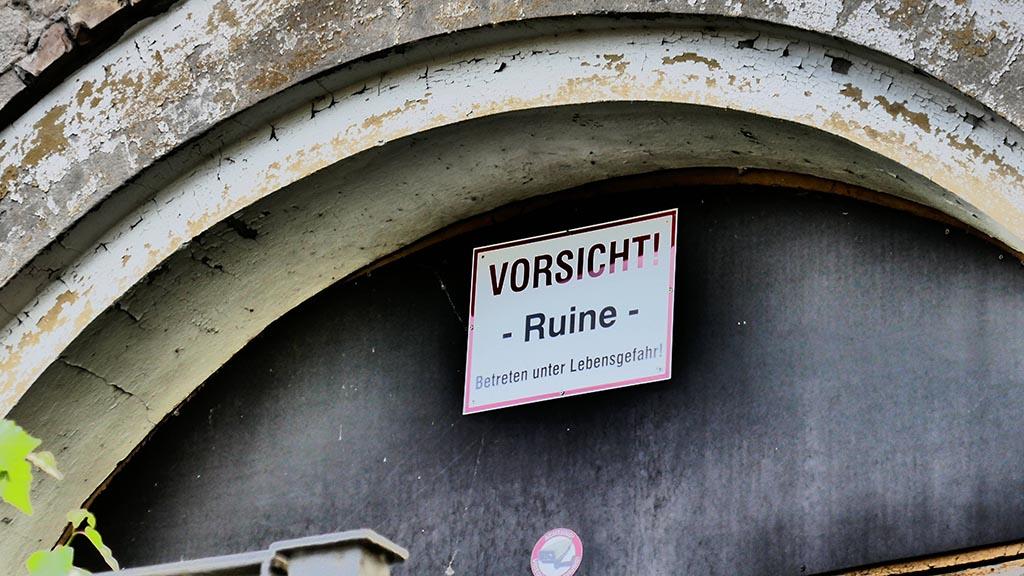 Grünauer Gesellschaftshaus – schneller Teilabriss wirft Fragen auf