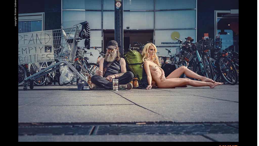 Berlin-Zehlendorf: Mit Nacktfotos von der Straße gegen Blutkrebs