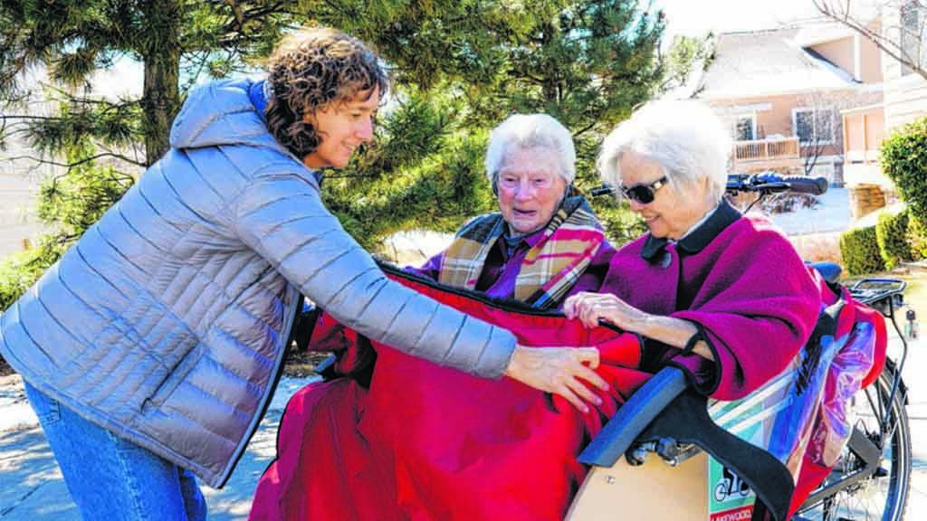 Rikscha-Touren für Senioren