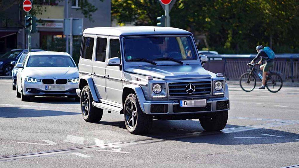 SUVs raus aus der Berliner City?