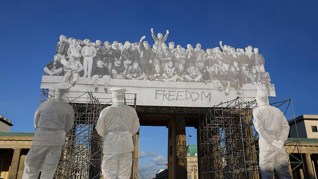 Brandenburger Tor: Eine Stadt feiert die Einheit