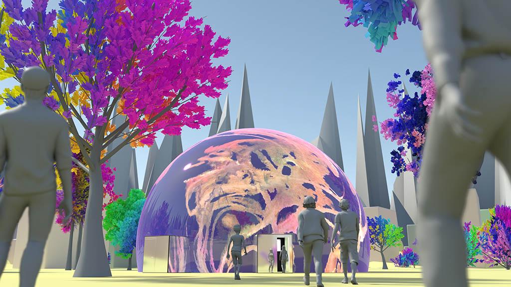 Berlin-Kreuzberg: Neue Kunst für Planetarien