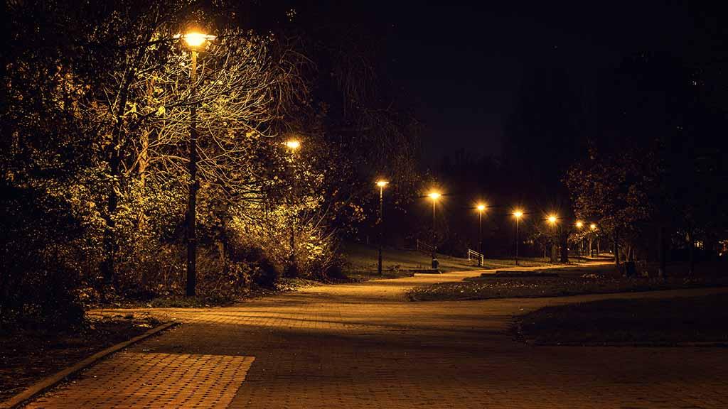 In vielen Berliner Grünanlagen blüht das Verbrechen im Dunkeln.