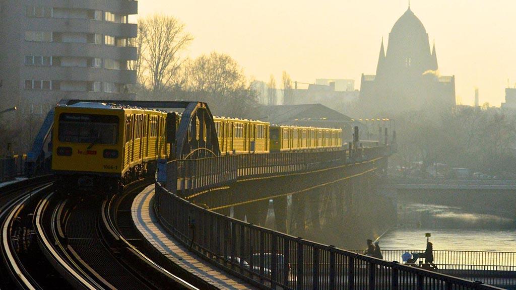 U-Bahn am Halleschen Tor
