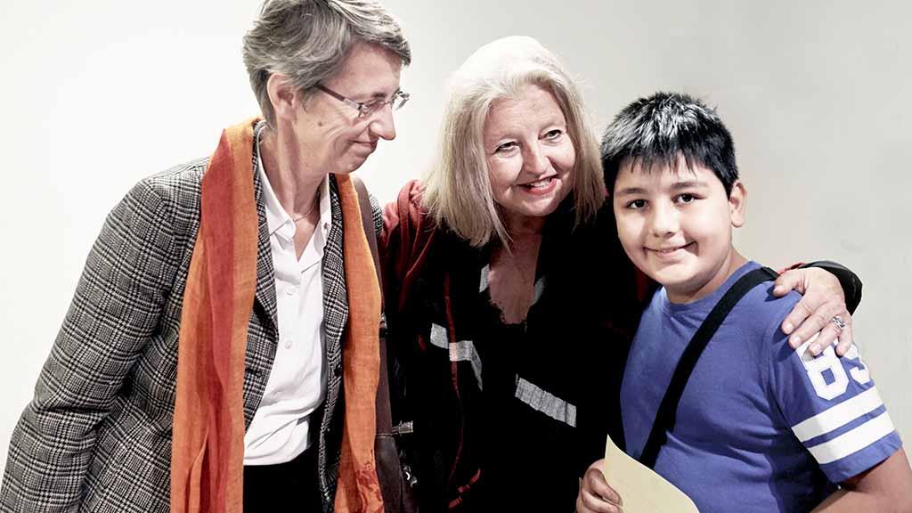 Steglitz-Zehlendorf: Filmstar Hanna Schygulla unterstützt Flüchtlingskinder