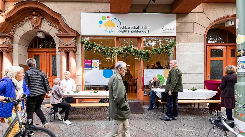 Berlin-Steglitz: Ein Nachbarschaftsladen für den ganzen Bezirk
