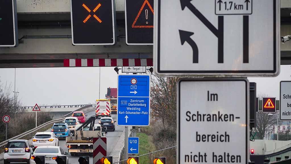 Sanierung der Berliner Stadtautobahn: Worauf sich Reinickendorf einstellen muss