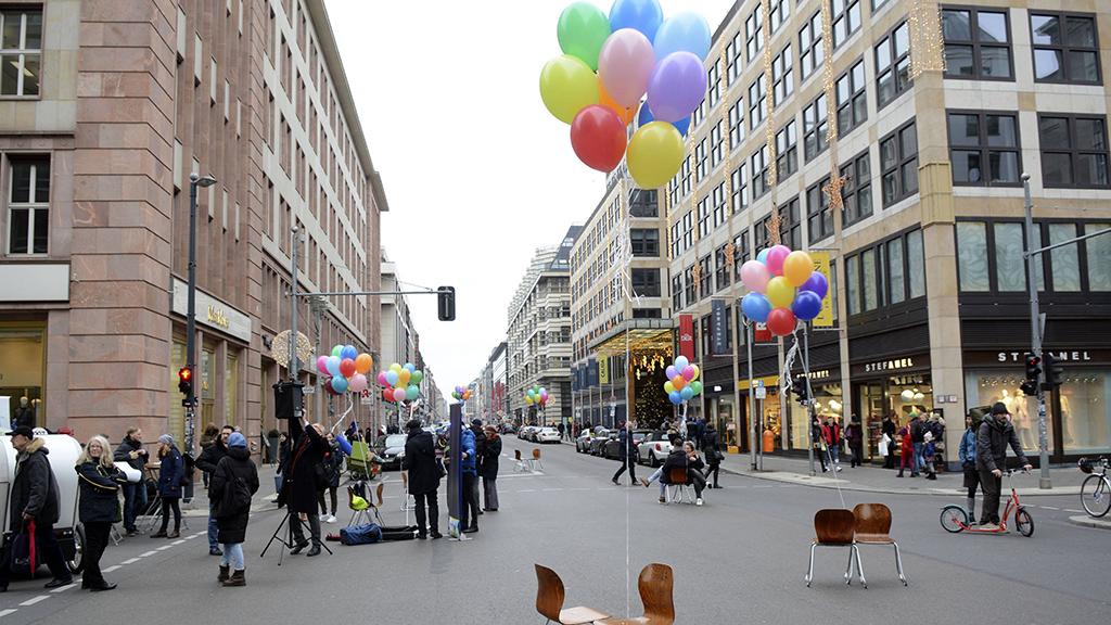 Die Friedrichstraße wird am Wochenende autofrei