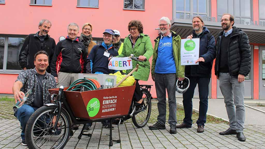 Steglitz-Zehlendorf: Leih-Lastenräder gehen an den Start