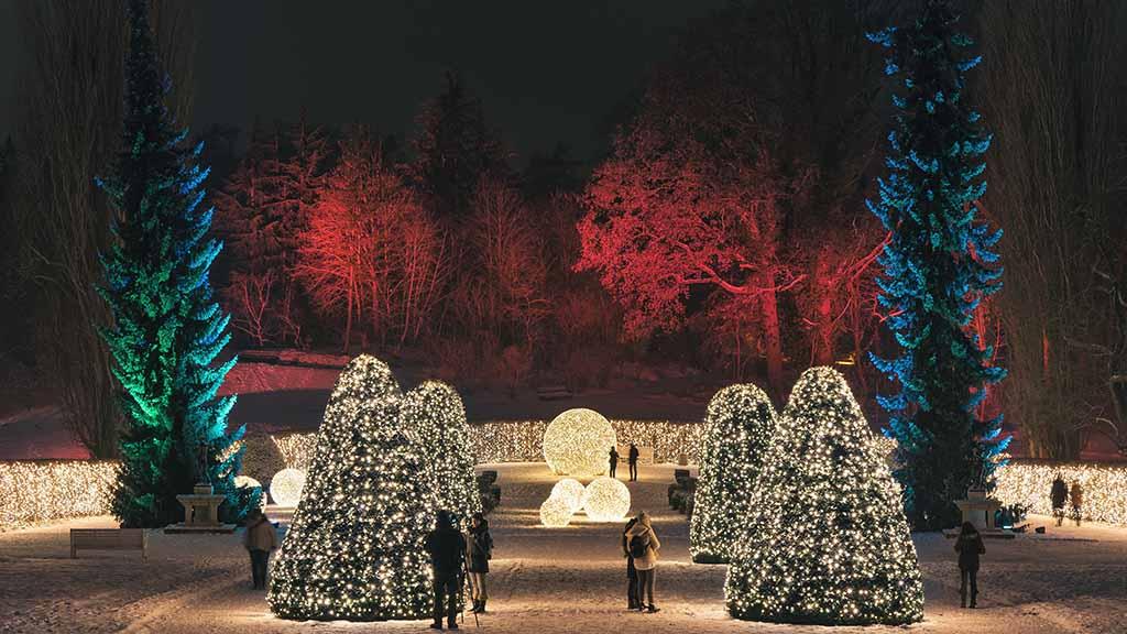 Berlin-Dahlem: Christmas Garden öffnet am 15. November