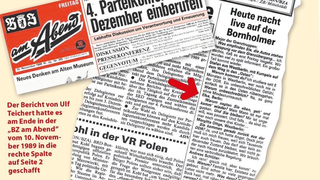 Berlin vor 30 Jahren: Die verpasste Chance nach dem Mauerfall