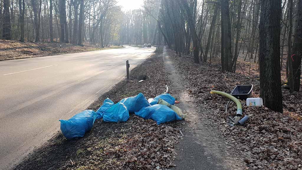 Berlin-Reinickendorf hat ein Müll-Problem