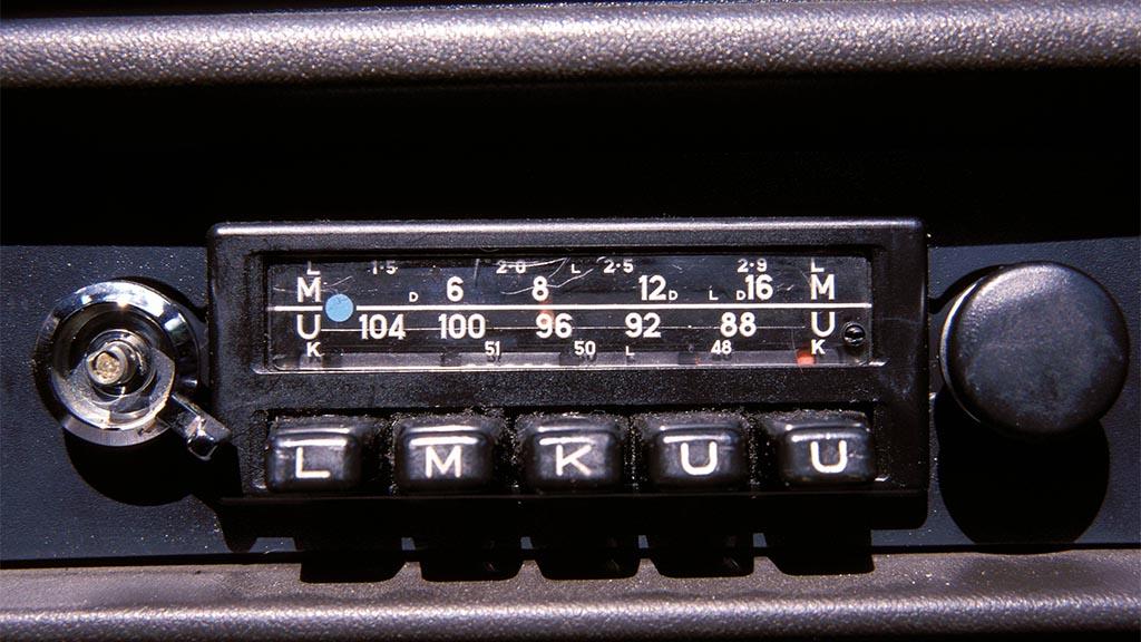 Autoradio aus – Der perfekte Moment wurde verpennt