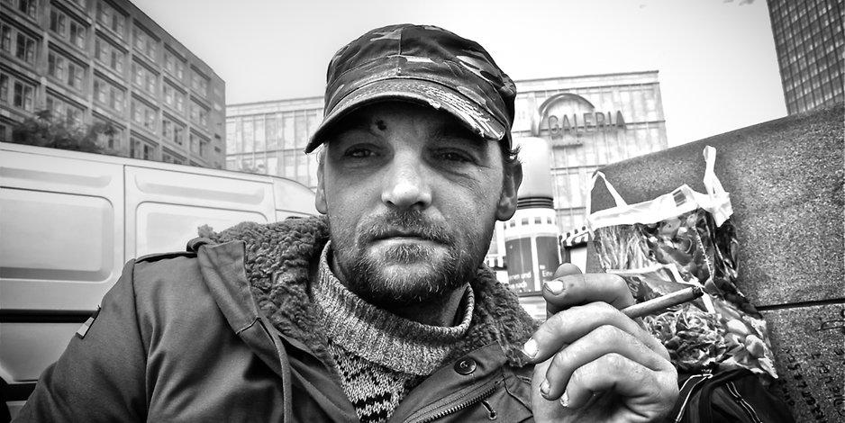 Pankow: Treffen mit Menschen ohne Obdach