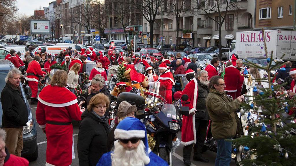 Berlin Christmas Biketour und Bürgermeisterwette
