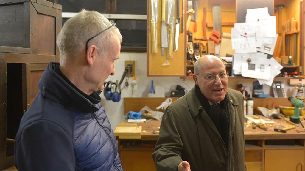 Berlin-Lichtenberg: Gregor Gysi will den BLO-Ateliers helfen