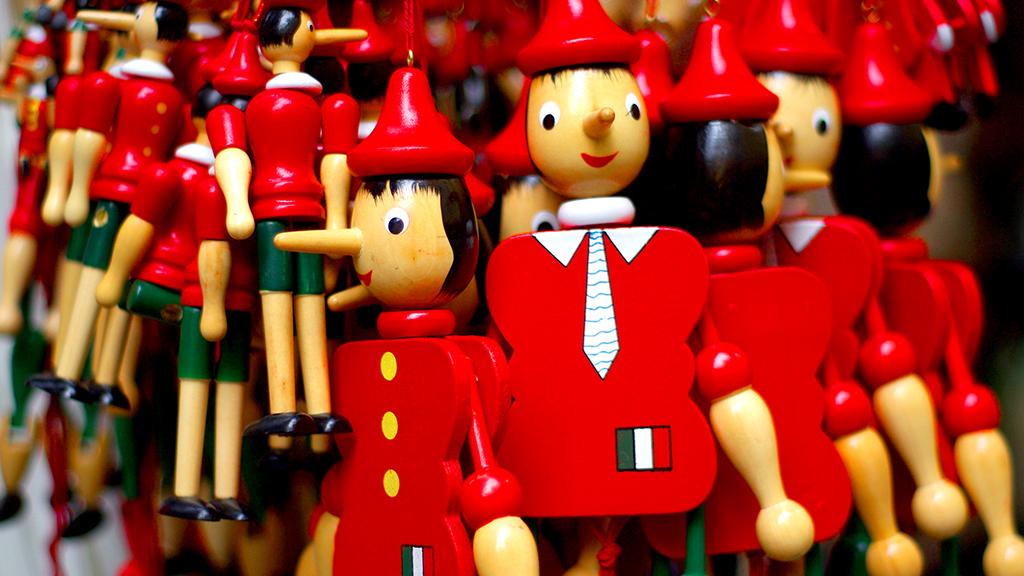 Pinocchio verzaubert das Publikum im Wintergarten