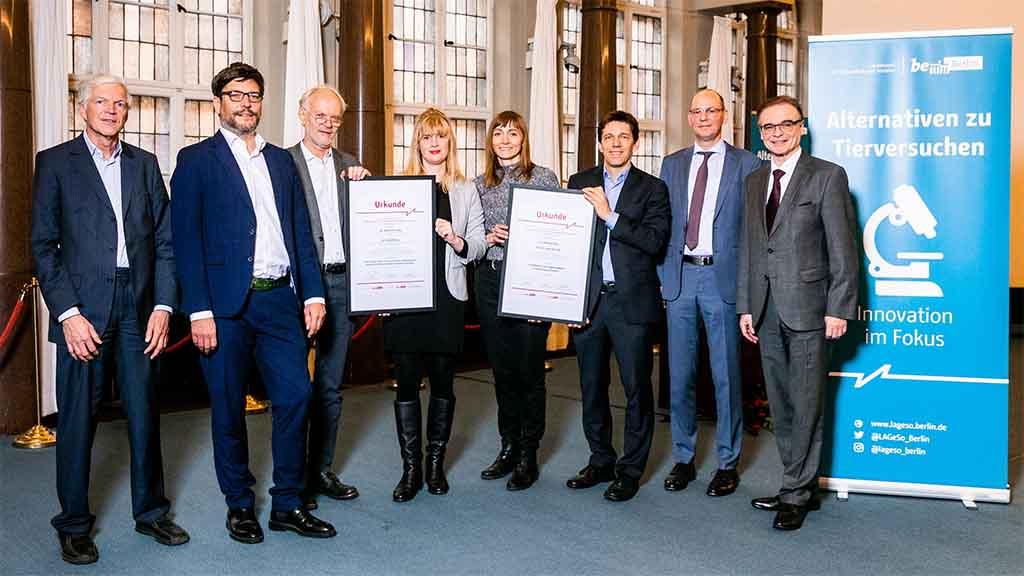 Berliner Landespreis: Wissenschaft findet Alternativen zu Tierversuchen