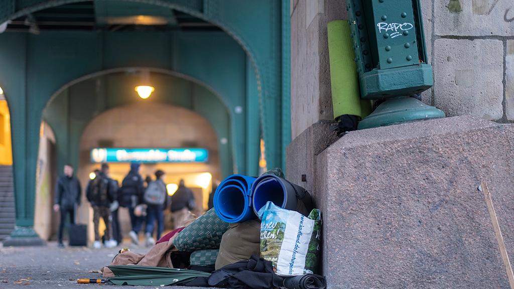 Viele Freiwillige melden sich für Obdachlosenzählung in Berlin