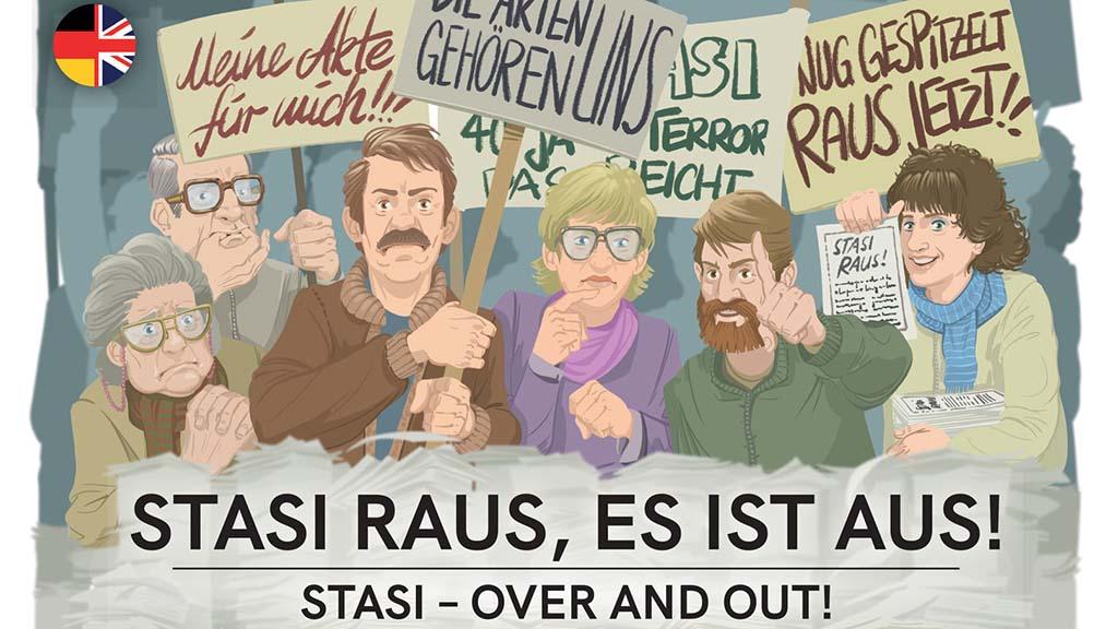 Stasi-Aus als Kartenspiel