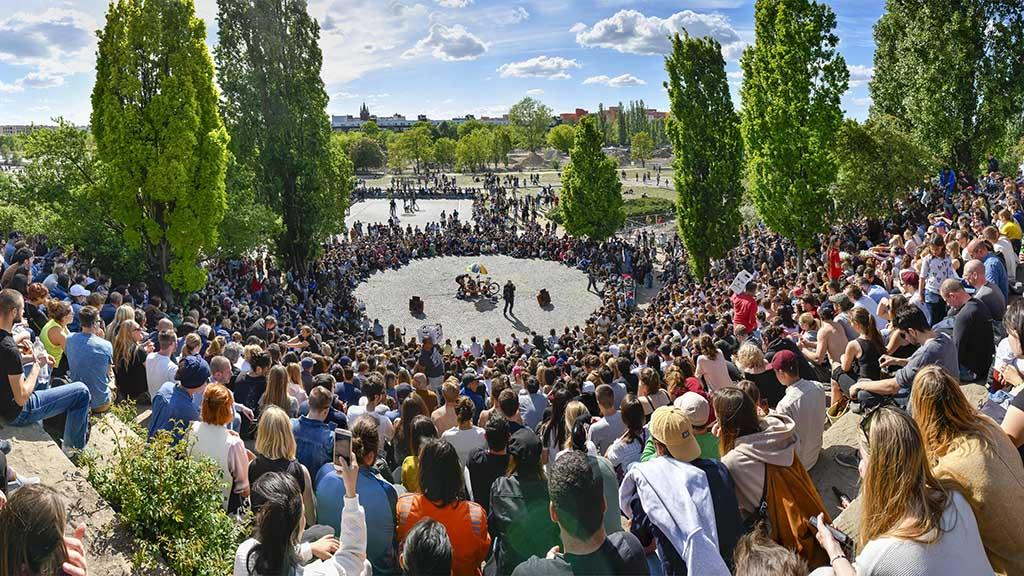 Berlin-Prenzlauer Berg: Eine Muschel für den Mauerpark