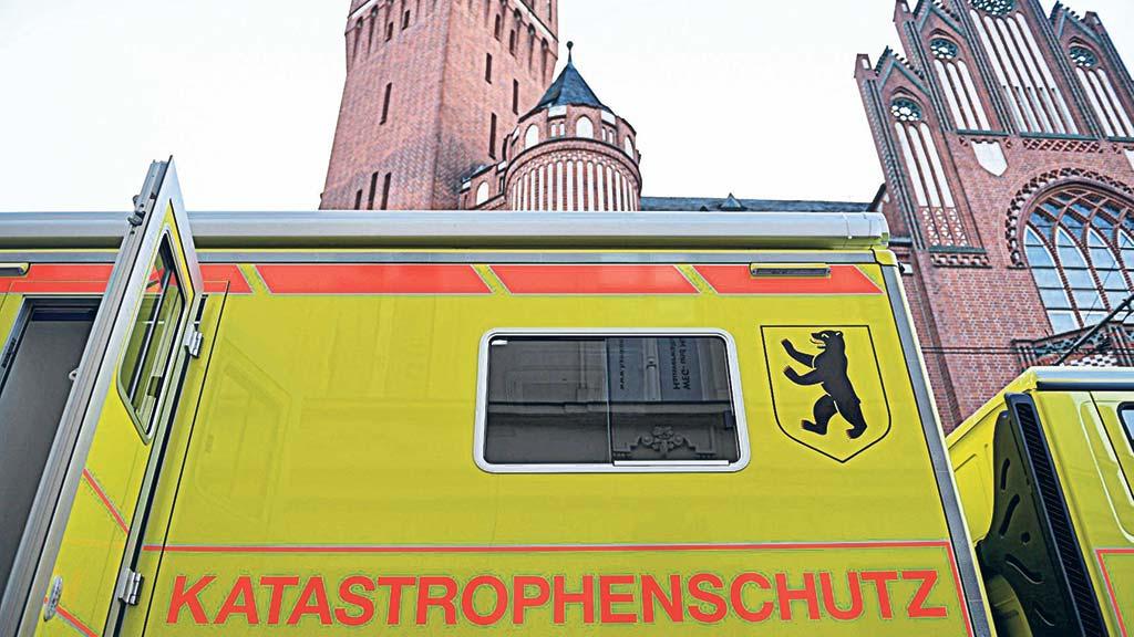 Berlin-Köpenick: Hilfe im Katastrophenfall