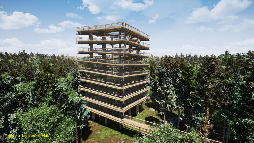 Ostsee erleben: Baubeginn am Baumwipfelpfad