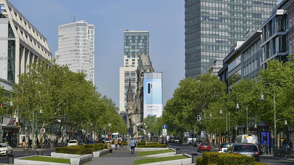 Tauentzienstraße den Fußgängern