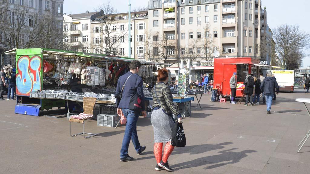 Berliner Markt-Händler fürchten um ihre Existenz