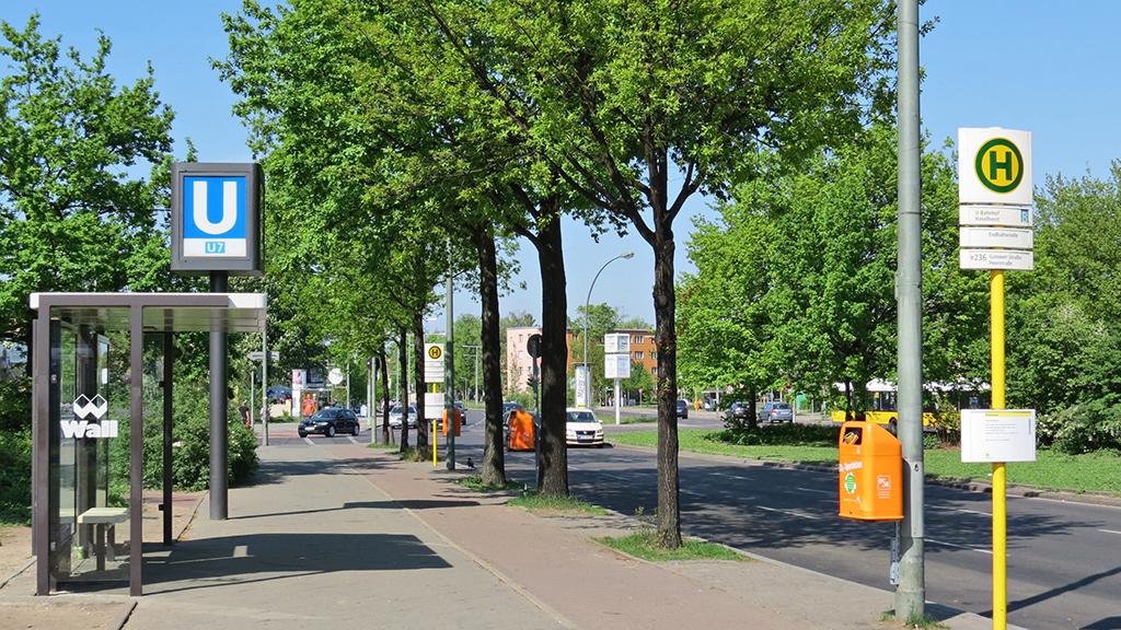 Berlin-Spandau: Ferdinand-Friedensburg-Platz wird umgebaut