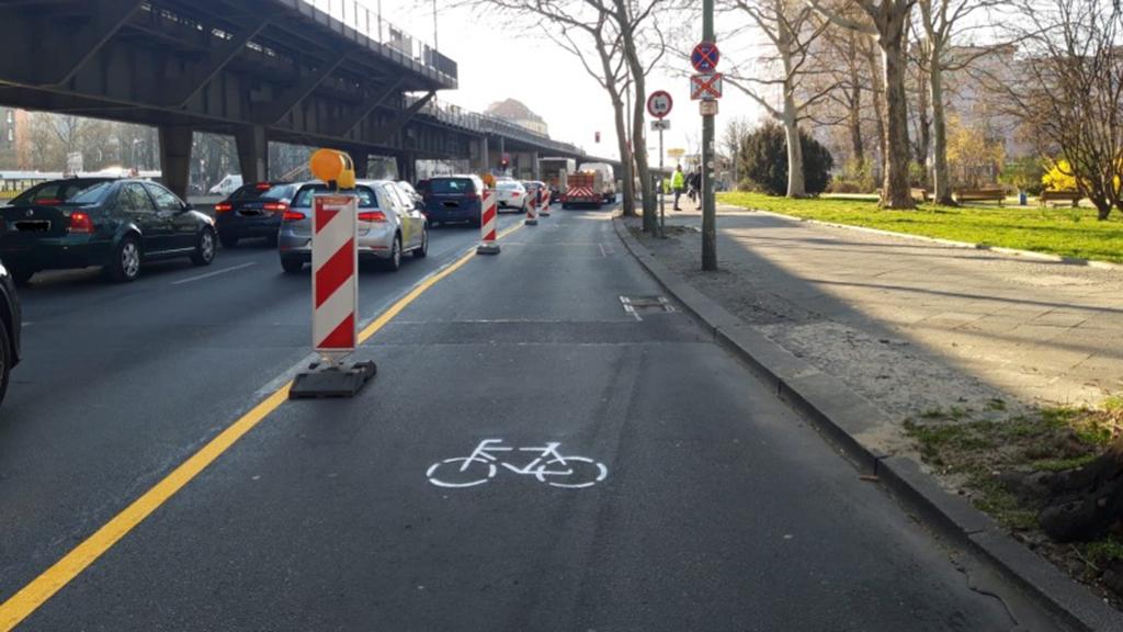 Berlin-Kreuzberg: So läuft es mit den breiteren Radstrecken