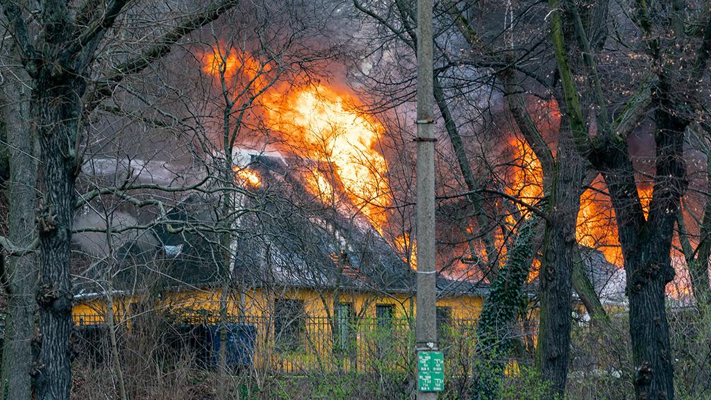 Friedrichshain-Kreuzberg: Der Pavillon im Volkspark abgebrannt