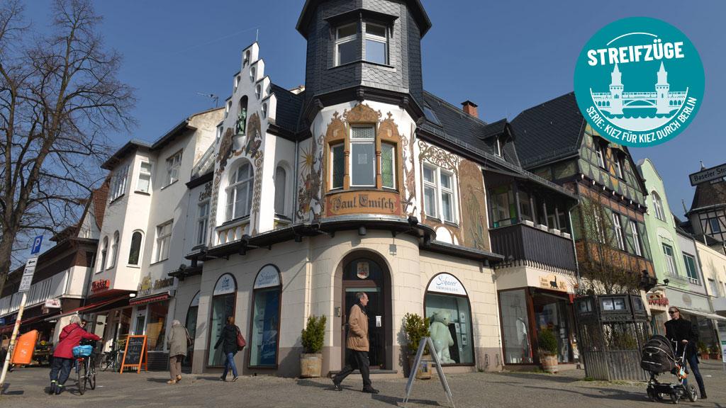 Lichterfelde: Tudorklassik und Toskana-Schick