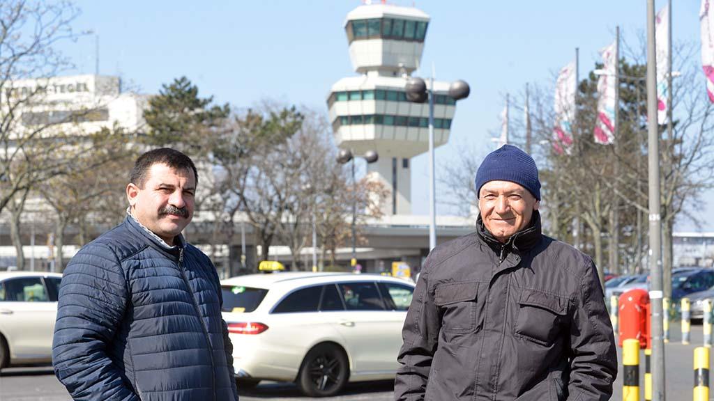 Berlin-Tegel: Der Himmel schickt keine Fahrgäste