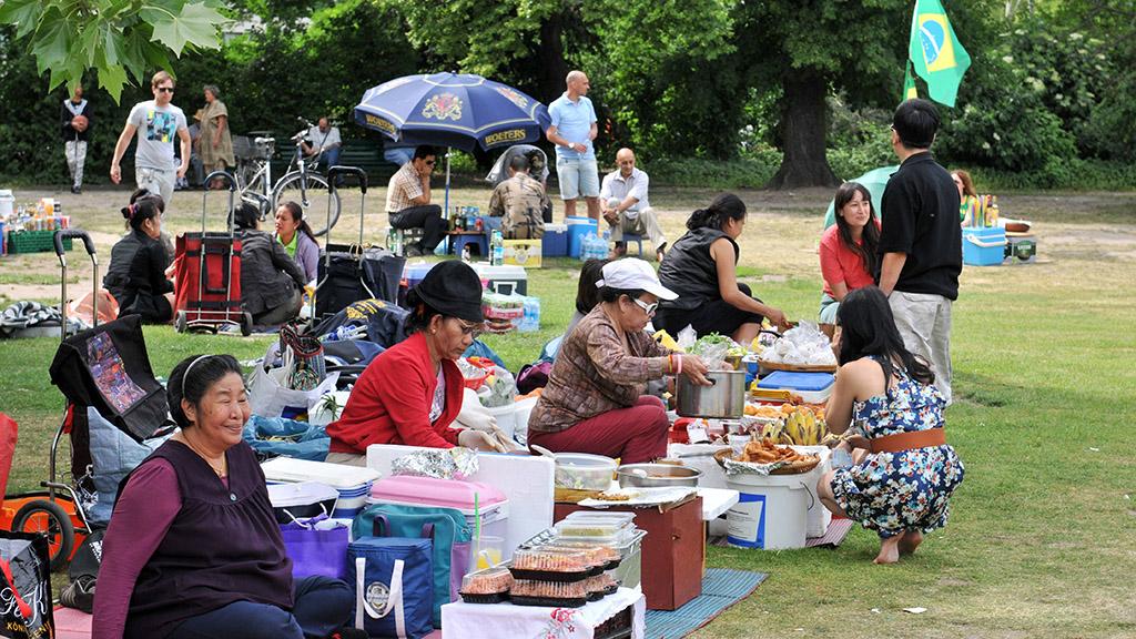 Berlin-Charlottenburg: Geschichten aus dem Thai-Park
