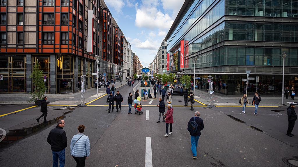 Berlin-Mitte: Teile der Friedrichstraße bald autofrei