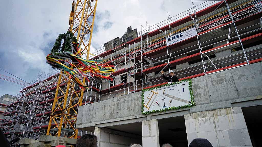 Berlin-Spandau: Wohnungsbau an der Daumstraße geht voran