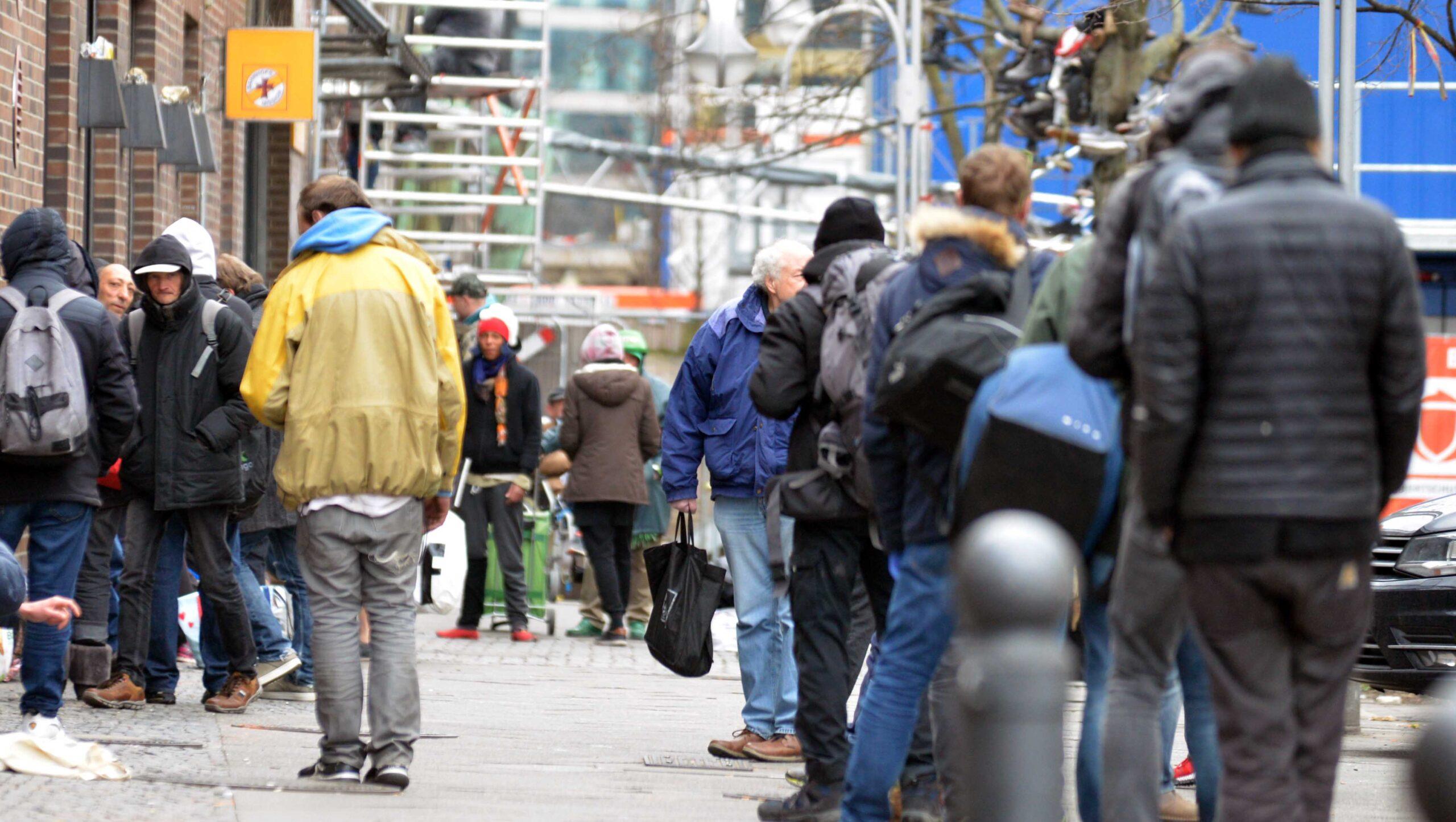 Berliner Bahnhofsmission: Keine Suppe mehr für Obdachlose