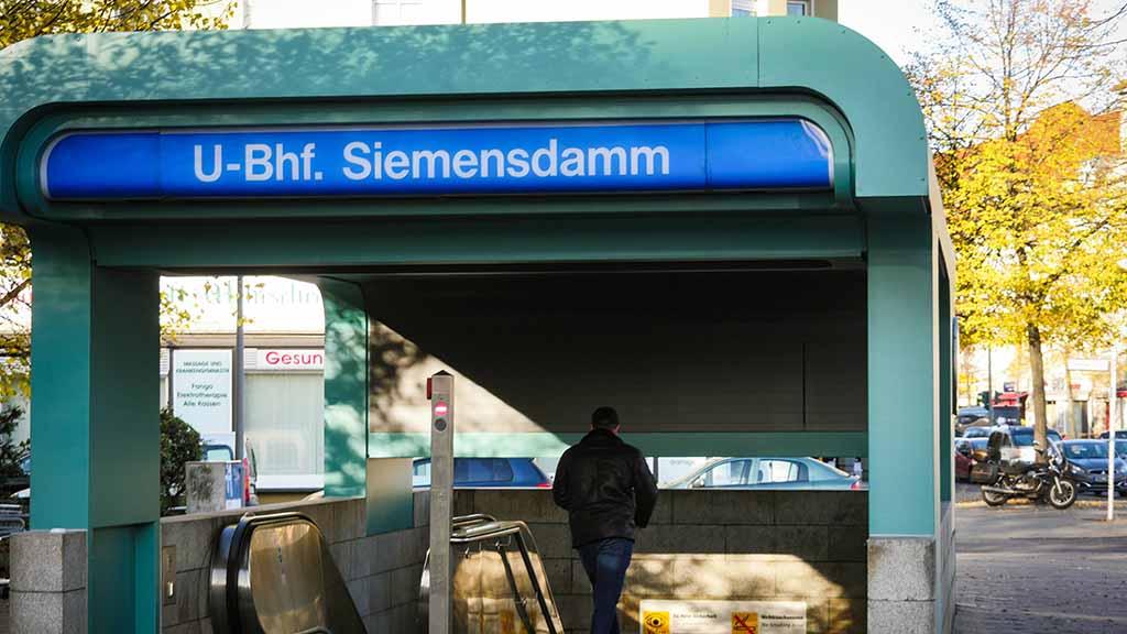 Berlin-Spandau, Siemensdamm, Siemensstadt