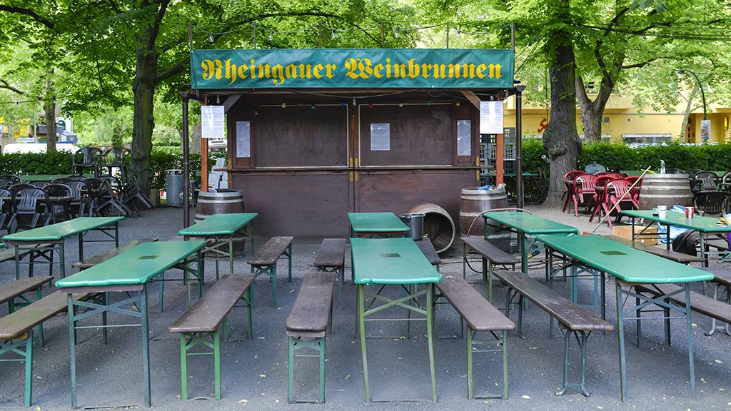 Berlin-Wilmersdorf: Rheingauer Weinbrunnen sprudelt erst 2021 wieder