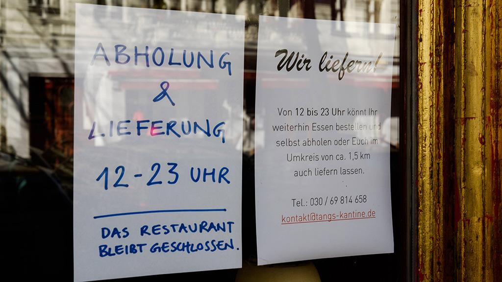 Dehoga Berlin startet Portal für Lieferservices im Kiez