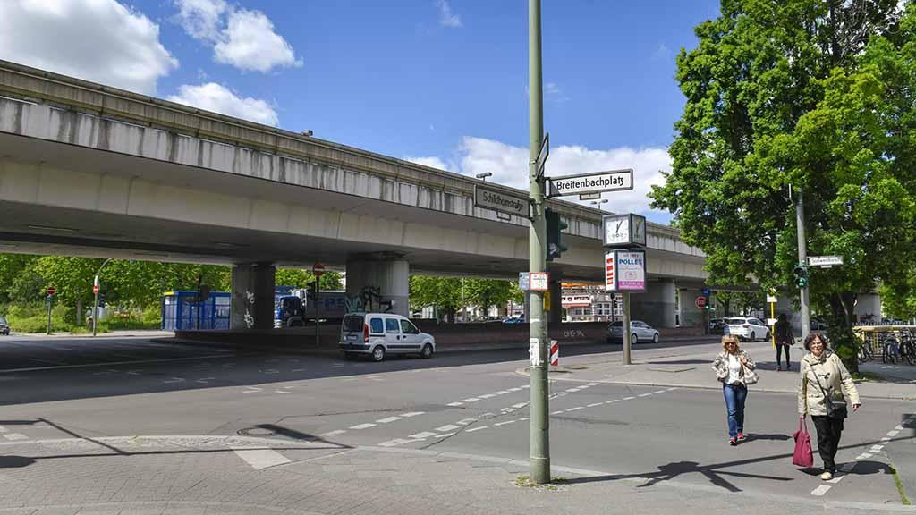Steglitz-Zehlendorf: Studie für Brückenabriss am Breitenbachplatz rückt näher